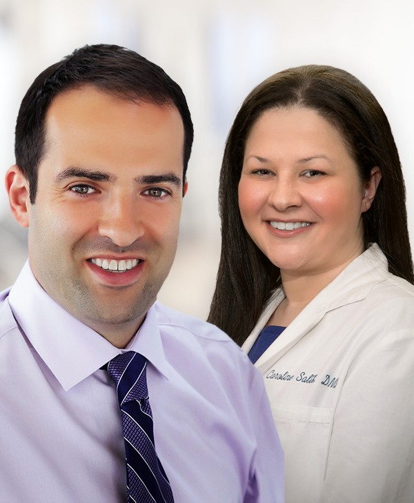 Parma Heights OH dentists Glenn Shtarkman DMD and Caroline Salib DMD
