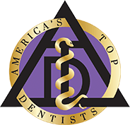 America's Top Dentists award badge