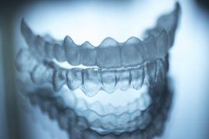 clear Invisalign aligners